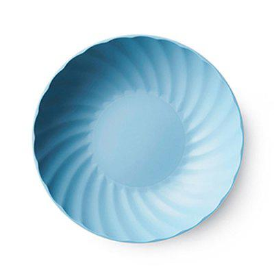 Nordic Wind Snack Melon Fruit Plate Round