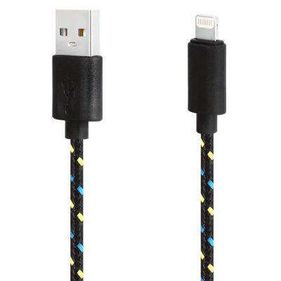 Cable de Carga de Sincronización de Datos USB de 8 Pines para iPhone 8 de 1m