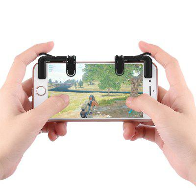 Refurbished Mobile Game Fire Button Aim Trigger Shooting Controller 2PCS