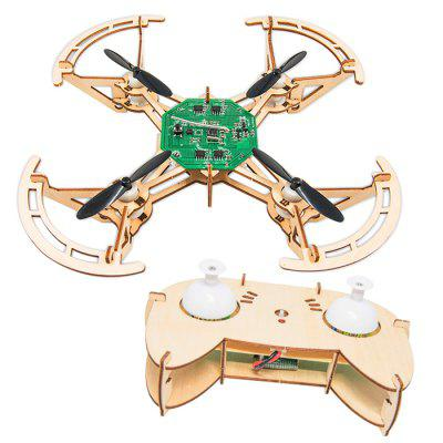 DIY Four Axis Assembled Quadcopter Image