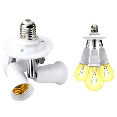 Universal Light Head Adjustable Angle One In Three Out Converter