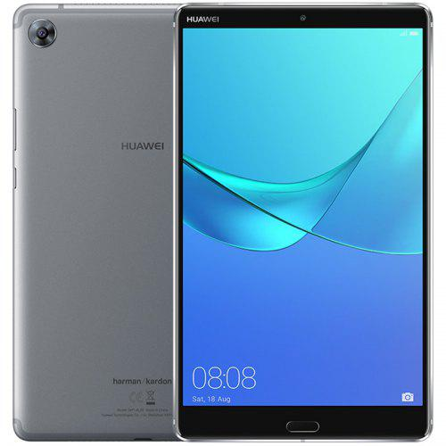 Gearbest Huawei M5 Pro 4G Phablet 4GB RAM 64GB ROM - GRAY 10.8 inch Android 8.0 + EMUI 8.0 Kirin 960 Octa Core 1.8GHz