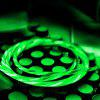 Universal 2.4A 5V Mobile Phone Charging Data Cable - GREEN