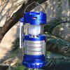 Portable Solar Power Camping Light Emergency Lamp for Outdoor - DODGER BLUE
