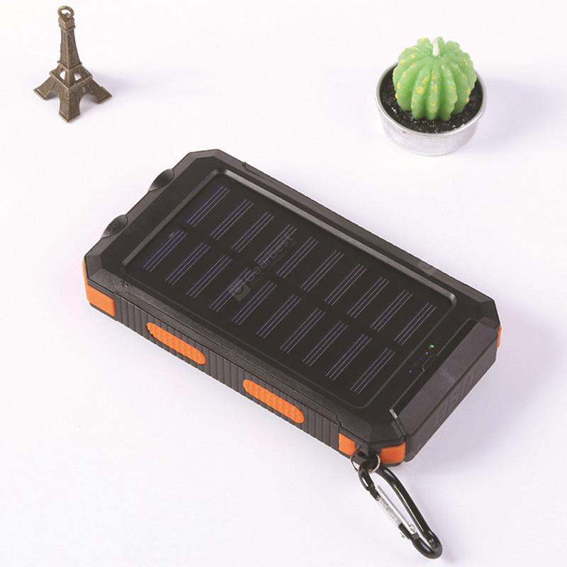 20000mAh Waterproof Compass Solar Mobile Power Bank