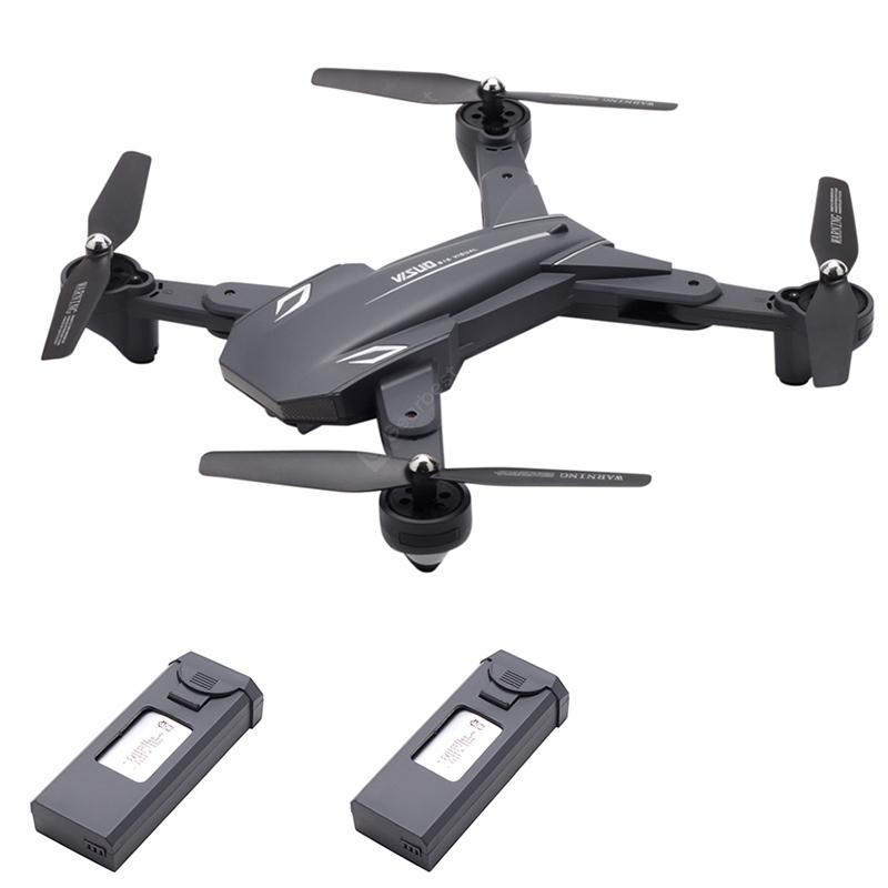 TIANQU VISUO XS816 Optical Flow Positioning Dual Cameras RC Drone - RTF - Black 2 Batteries