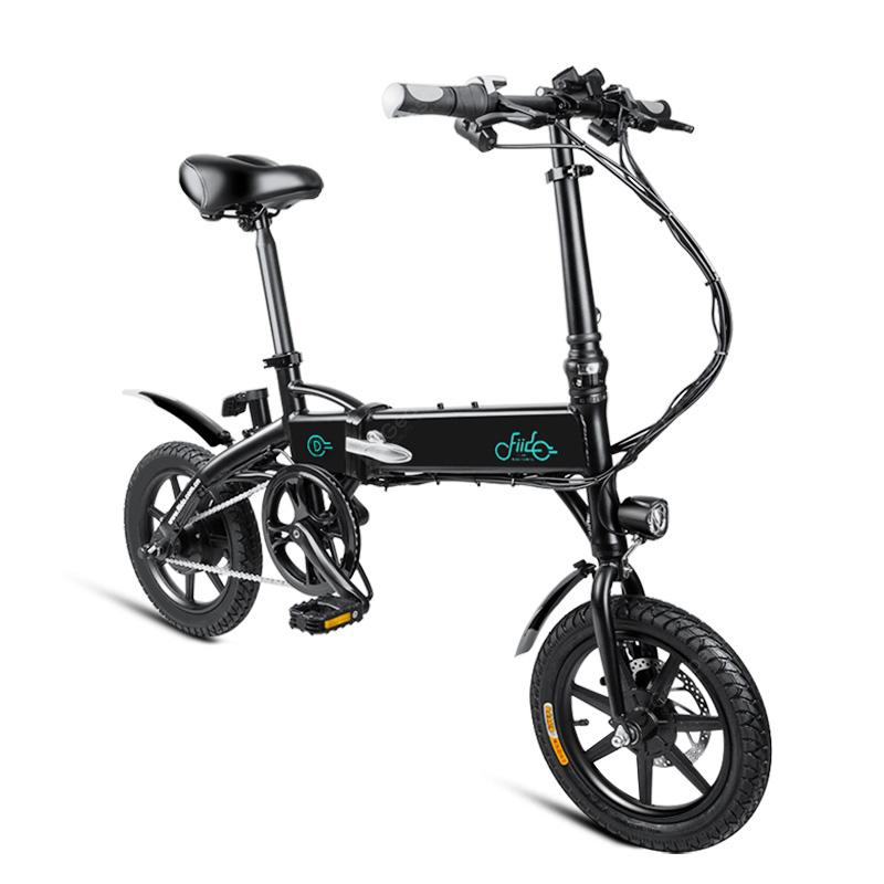 Fiido D1 Folding Electric Bike Moped Bicycle E Bike
