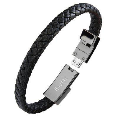 Micro USB Mini Bracelet Charging Transmission Data Cable