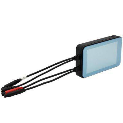 MT001 Full HD 1080p 2.5D Touch Screen Front And Rear Double Recording Large Aperture Dual Lens Motorcycle Black Box Image