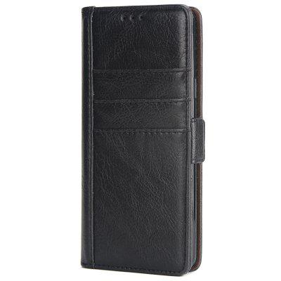 External Three-card Leather Anti-fall Mobile Phone Case for Samsung Galaxy S9 Plus