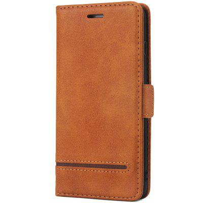 Vintage Stitching Leather Phone Case with Wallet for iPhone 7 Plus
