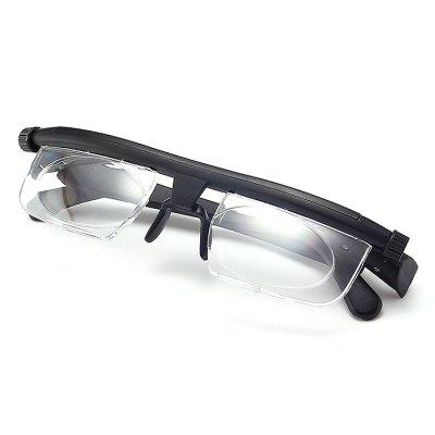 TR90 Focal Length Adjustable Myopia Reading Glasses