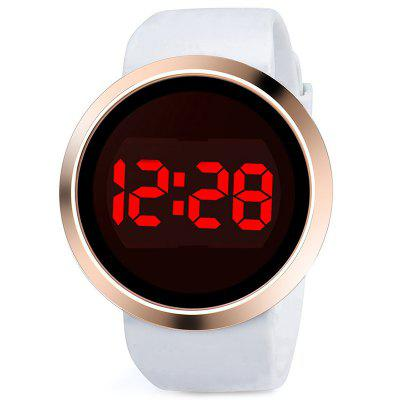 LED Quartz Touch Alloy Watch