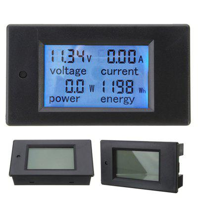 DC 20A / 100A Digital LED Power Monitor Voltmeter Ammeter Watt Meter