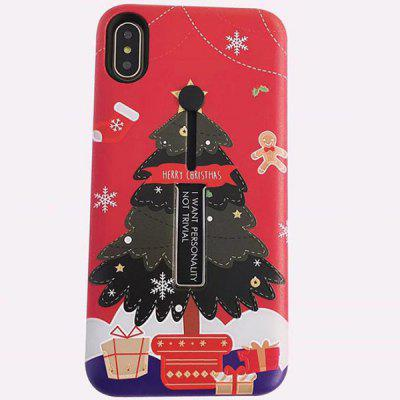 Christmas Elk Cute Phone Case for iPhone X