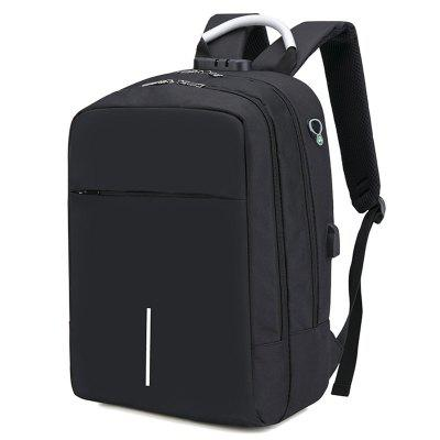 15 inch USB Charging Anti-theft Casual Laptop Backpack