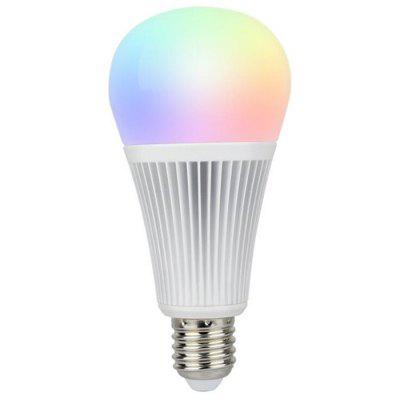 9W RGB + CCT Color Temperature Bulb Lamp 2.4G Wireless Remote Control Lighting Decoration
