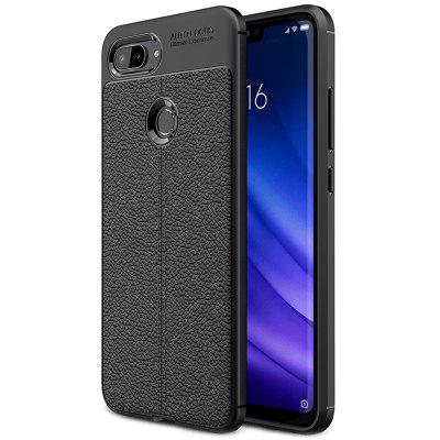 ASLING Litchi Leather Series Mobile Phone Shell do Xiaomi Mi 8 Lite (Xiaomi 8 Youth Version)