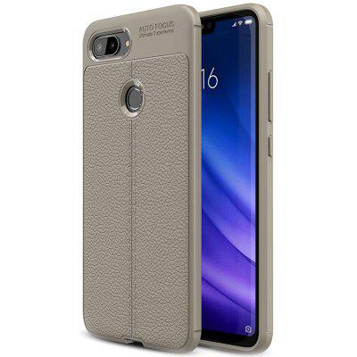 ASLING Litchi Leather Series Mobile Phone Shell for Xiaomi Mi 8 Lite ( Xiaomi 8 Youth Version )