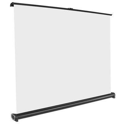 50 inch 16:9 Portable Tabletop Foldable Projection Screen for Business Meeting Travel Cinema DLP Projector