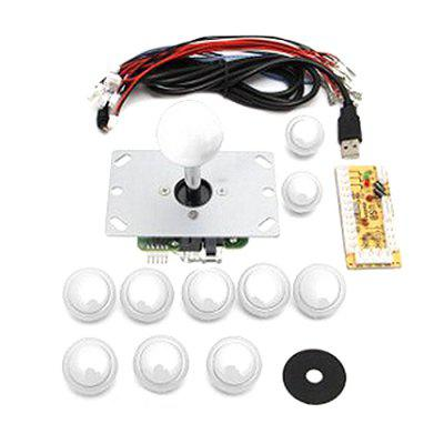 USB Arcade Joystick Circuit Board DIY Three And Rocker Accessories Card Button Switch PC Rocker Accessories