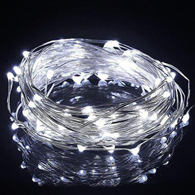 10m 100-LED String Light per decorazioni natalizie