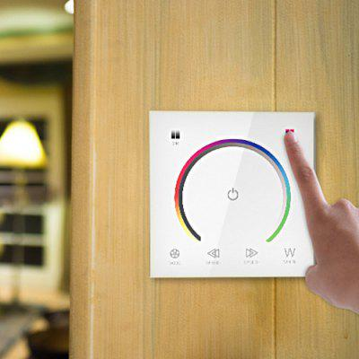 Wall Control Smart Switch Colorful Dimming Controller for Strip Light