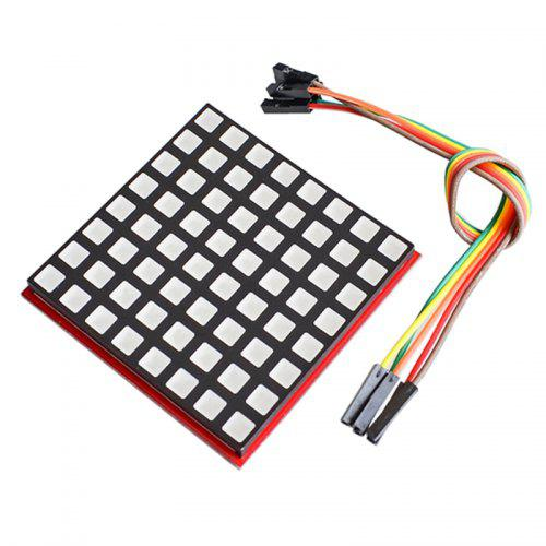 LED Full Color 8 x 8 RGB Dot Screen Display Module for Raspberry Pi 3/ 2/ B+