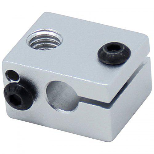Aluminium V6 Heat Block for V5 V6 J-head Extruder HotEnd 3D Printers Parts