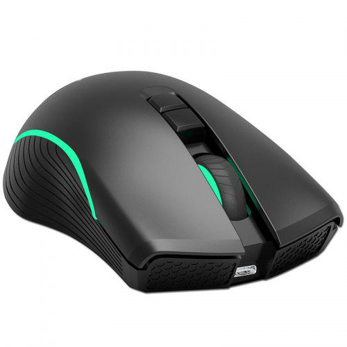 ZERODATE T26 2.4GHz Wireless Mouse - BLACK
