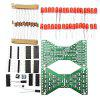 LEBANGSHOU DIY Double-layer Circuit Board Electronic Hourglass Kit Welding Practice Spare Parts Module - MULTI-A