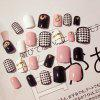 Nail Sticker Fashion Short Nail Patch - MULTI-A