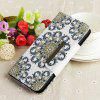 Painted TPU + PU Leather Mobile Phone Case Wallet Card Inserted Card Anti-fall Protection Cover for Huawei Mate 20 Lite - MULTI-A
