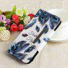 Painted TPU + PU Leather Mobile Phone Case Anti-fall Protection Cover for Huawei P20 Pro - MULTI-A