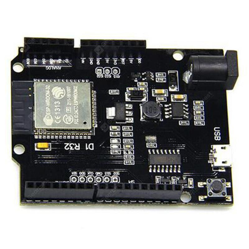 D1 ESP32 WiFi Bluetooth 4MB Flash UNO D1 R32 Board Module CH340 CH340G  Development Board for Arduino One
