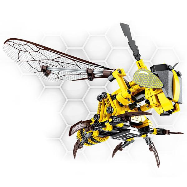 Bumblebee Model Building Blocks 236pcs - YELLOW