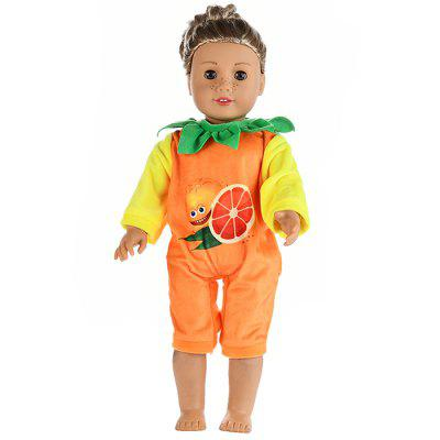 18 inch Girl Fruit Clothes Doll Costume