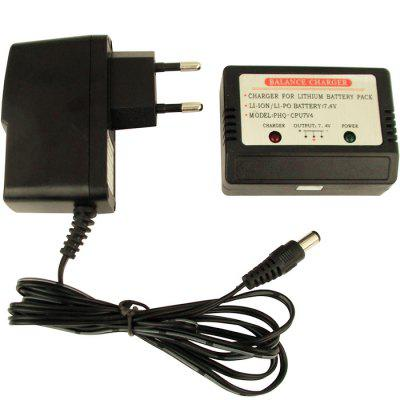 2S 7.4V LiPo Battery Balance Charger with Power Adapter ( European Regulation )