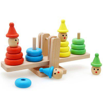 Balance Blocks Set for Children Mathematics Teaching Aids Educational Toys