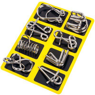 Neun-Ring Serie von Unwrapping Intelligence Buckle 8pcs