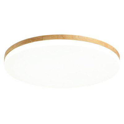 Japanese-style Roung Ultra-thin LED Ceiling Lamp for Bedroom Living Room Balcony Lighting