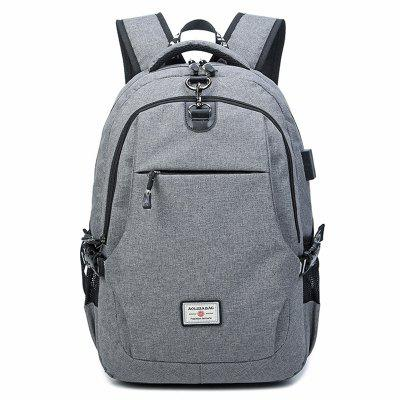 AOLIDA Men Large Capacity Anti-theft Leisure Notebook Backpack