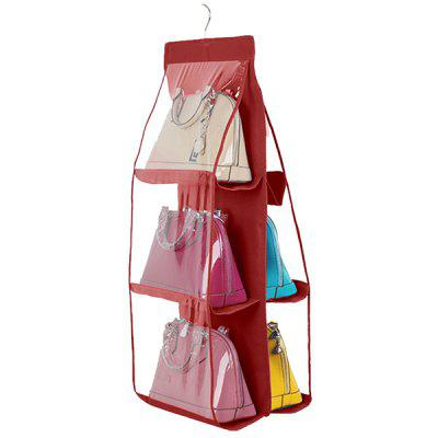 Six-layer Bag Organizer Hanging Storage Bags