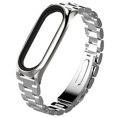 Solid Replacement Steel Wristband for Xiaomi Mi Band 3