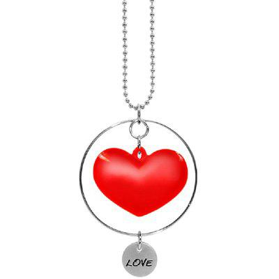 JK - 128 Fall in Love Heart Shape Air Freshener Pendant for Hanging