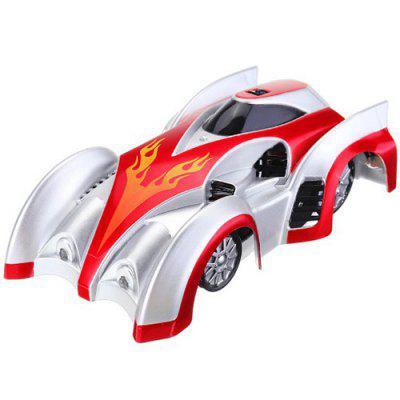 Land / Wall Dual Modes Spinning RC Car Electric Toy Gift for Kids