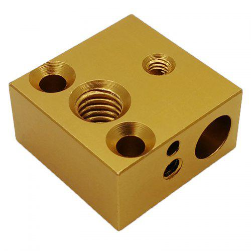KOHON 3D Printer Parts Hotend Kit Aluminum Alloy Heating Block