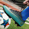Men Stylish Outdoor Soccer Sports Shoes - GREEN