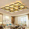 Chinese Style LED Ceiling Lamp for Living Room Bedroom Lighting - NATURAL BLACK