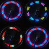 7-LED RGB Wheels Valve Light Spoke Lamp for Bicycle - MULTI